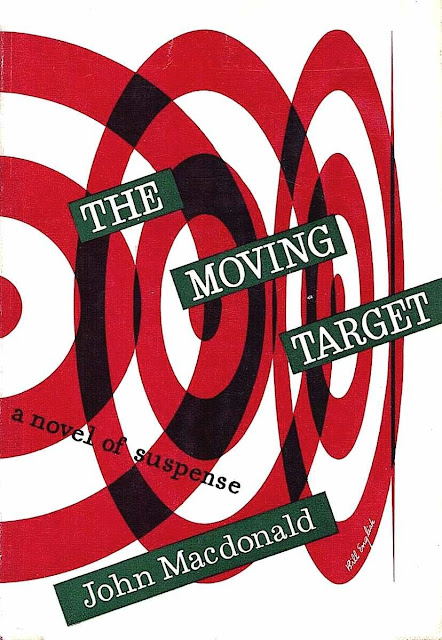 Bill English 1949 book cover The Moving Target by John Macdonald
