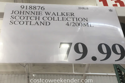 Deal for the Johnnie Walker Blended Scotch Whisky Collection at Costco