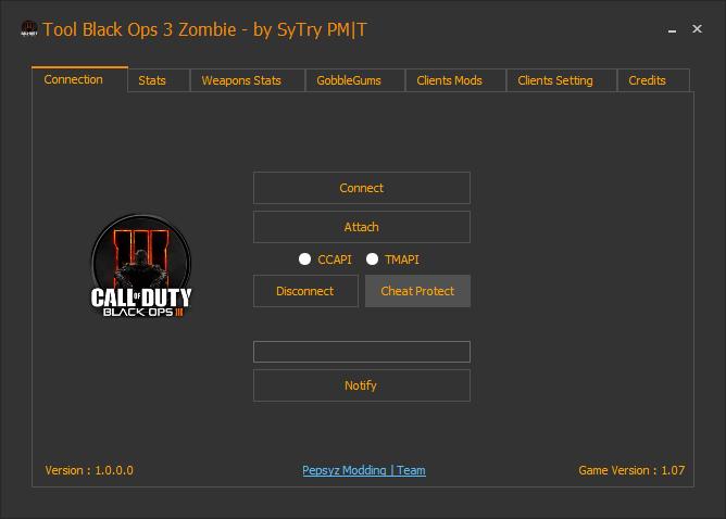 HACK call of duty black ops 3 mod menu تهكير لعبة بلاك اوبس 3