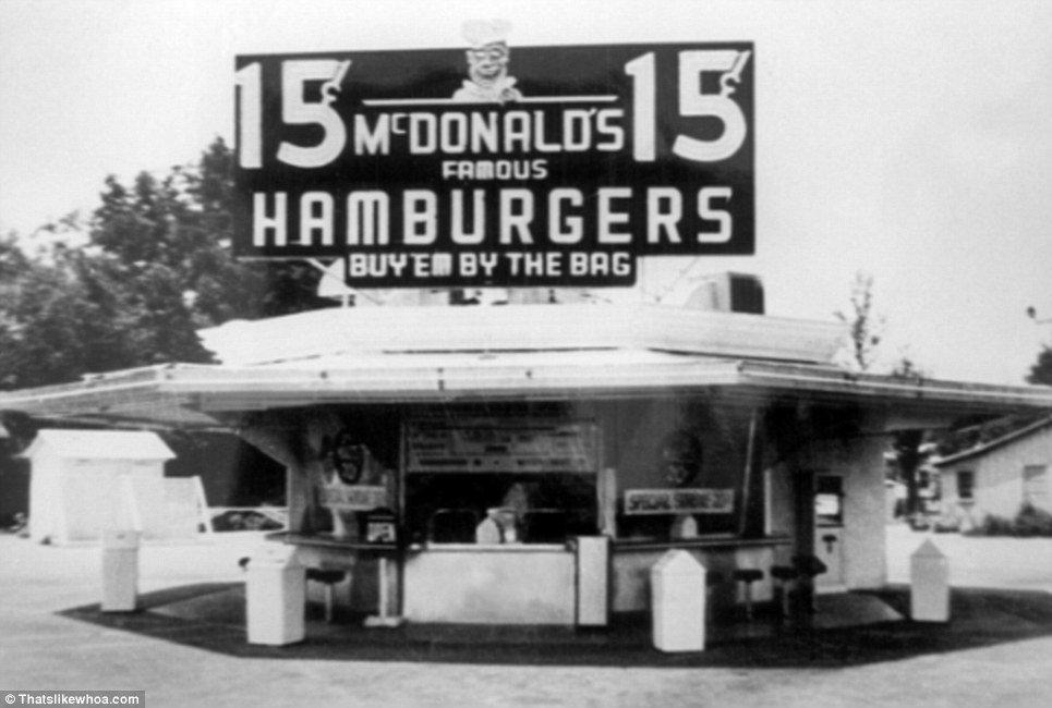 Перший McDonalds. 1948 рік