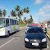 Engavetamento entre três veículos na Tomaz Landim