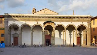 The Basilica della Santissima Annunziata in Florence