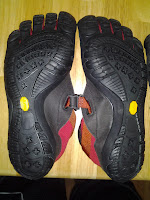 Vibram five-finger shoes