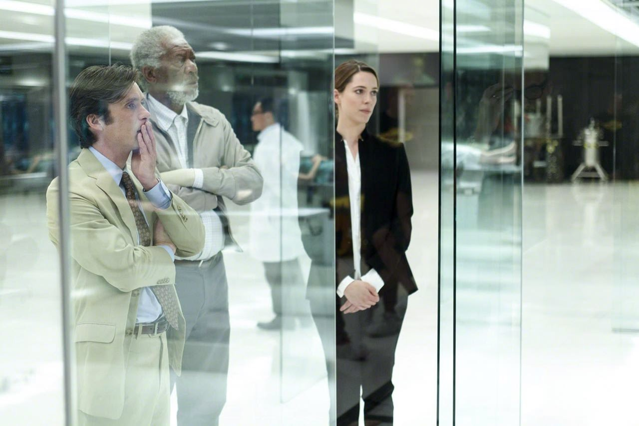 transcendence cillian murphy morgan freeman rebecca hall