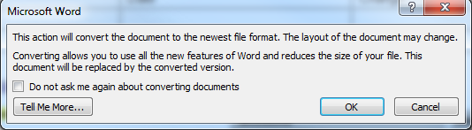 Document Property disabled under Quick Parts in Word 2010 | My IT