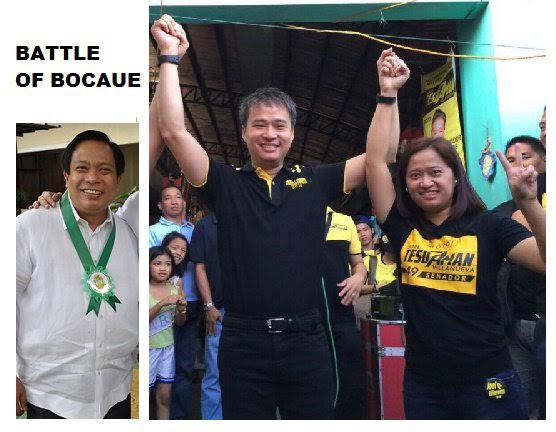 """Tesdaman"" with his sister and Bocaue Proclaimed Mayor Joni Villanueva"