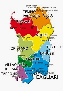 Cartina Montuosa Sardegna.La Sardegna Riassunto Scuolissima Com