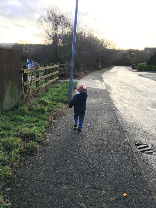 Our-weekly-journal-16th-jan-2017-toddler-walking-on-a-path