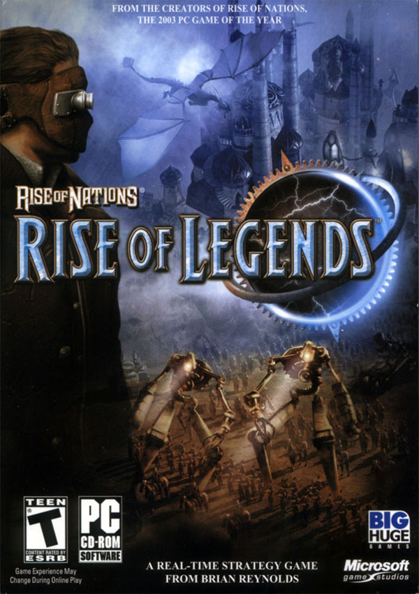 Rise of Nations Rise of Legends Download Cover Free Game