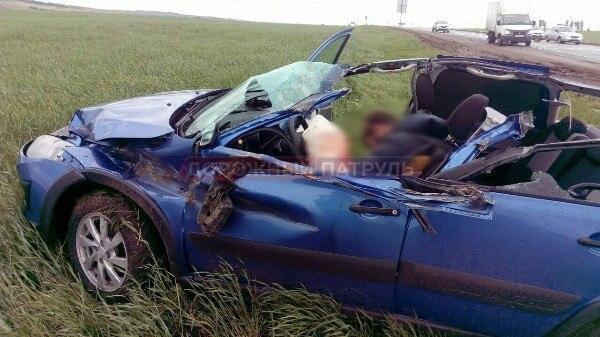 В Башкирии на трассе Уфа-Оренбург произошло смертельное ДТП