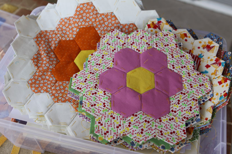 Flower Garden blocks