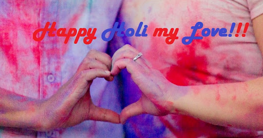 Free Happy Holi Quotes For Lover