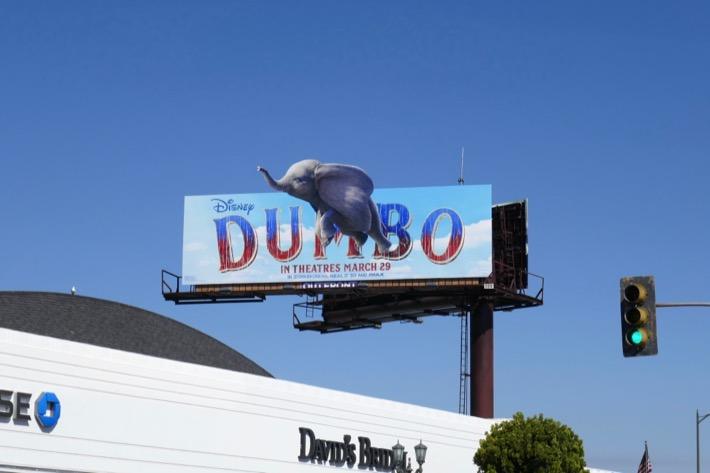 Dumbo movie billboard