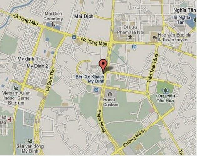 Vị Trí An Bình Plaza