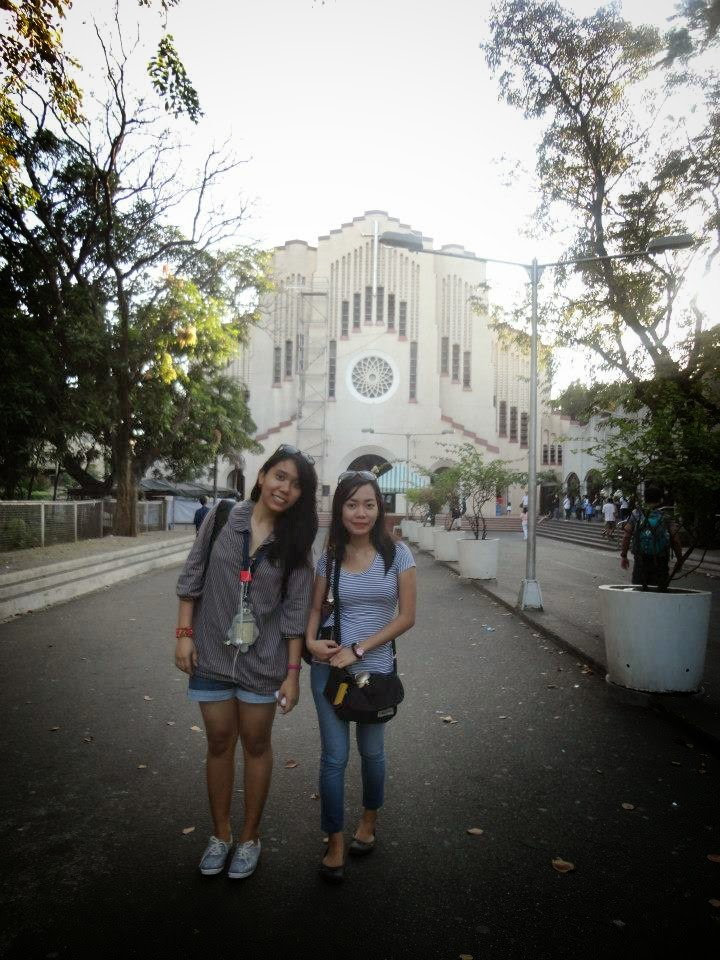 Baclaran Church - Flying For The First Time