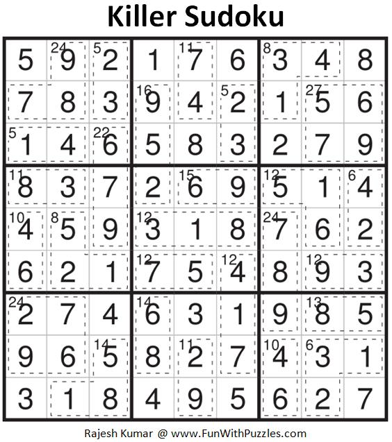 KILLER SUDOKU PUZZLES AND - Videos matching Killer Sudoku