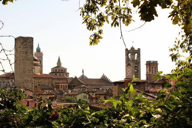 Vistas desde la Rocca (Bergamo)