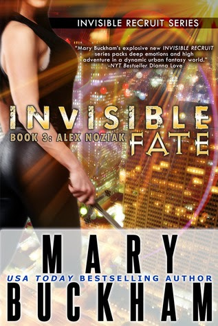 Invisible Fate (Alex Noziak #3) by Mary Buckham