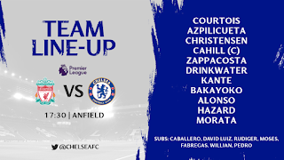 Fabregas benched for Liverpool vs Chelsea