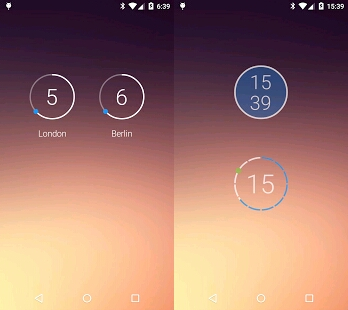 best widget clock apps list