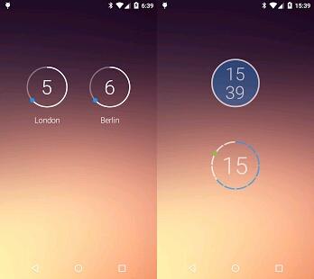 widget clock apps with weather top list