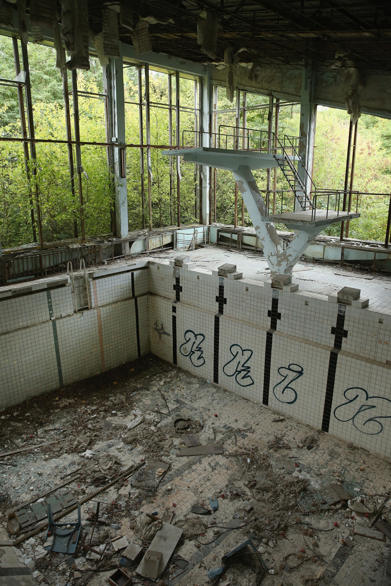 Chernobyl Exclusion Zone / Prypyat, Ukraine