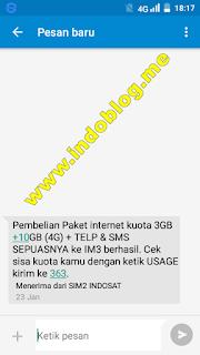 Cara Daftar Paket Nelpon SMS Internet Indosat Murah Terbaru 2017