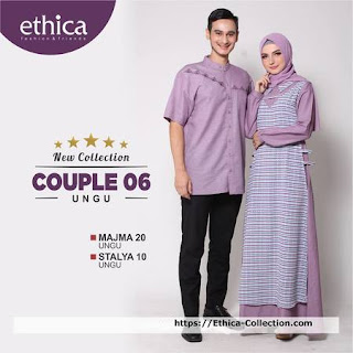 gambar baju lebaran muslim keluarga