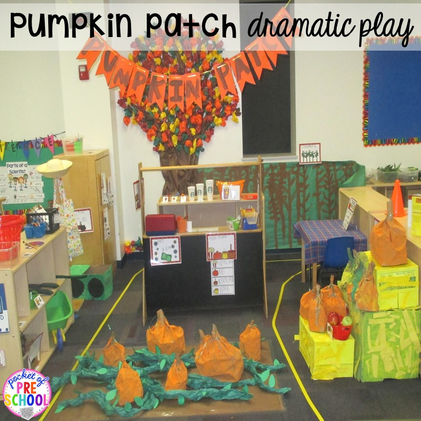 Classroom Ideas And Activities ~ Fall themed activities for little learners pocket of