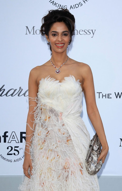 Mallika Sherawat Amfar Weinstein  Cannes Film Festival  Hot Cleavage wallpapers