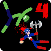 Stickman Warriors 4 Online v1.0 New Games Fighting Online Mod Apk for Android