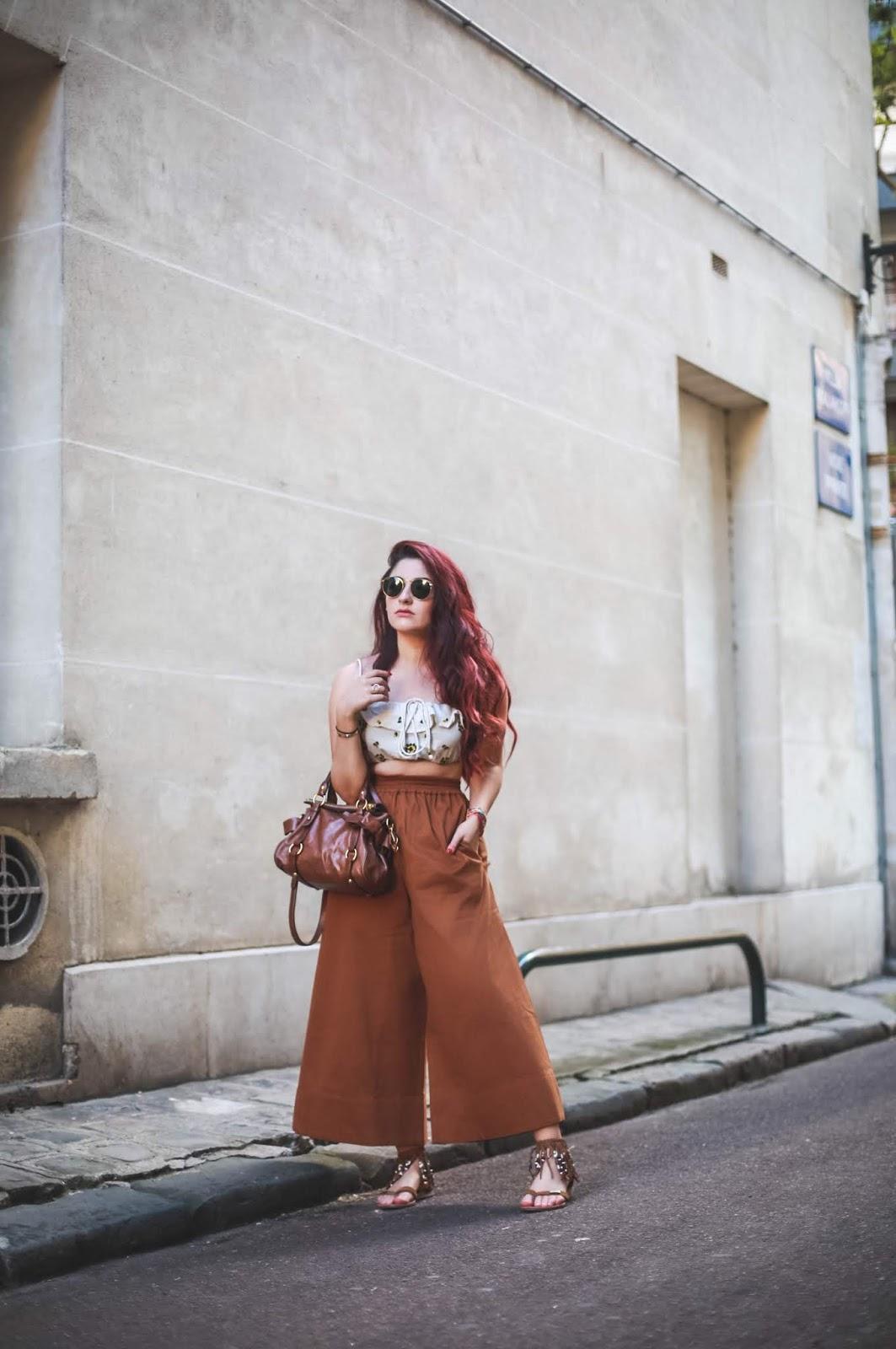 boho style blog mode