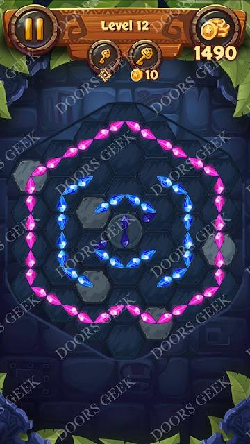 Gems & Magic [Ruby] Level 12 Solution, Walkthrough, Cheats