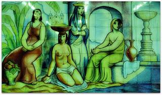 As Moças na Fonte - João Fahrion, 1945