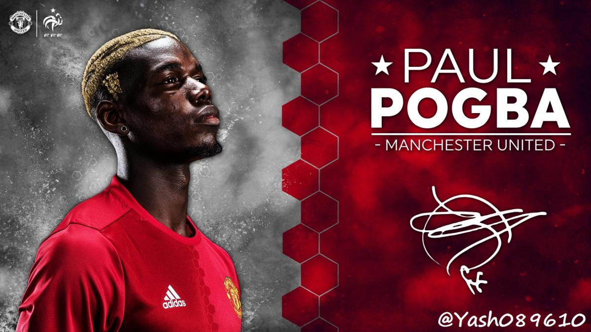 PES 2017 Paul Pogba Start Screen By Yash089610