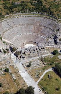 Excursão a grande teatro de Éfeso