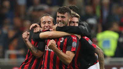 Highlight AC Milan 2-1 AS Roma, 1 September 2018