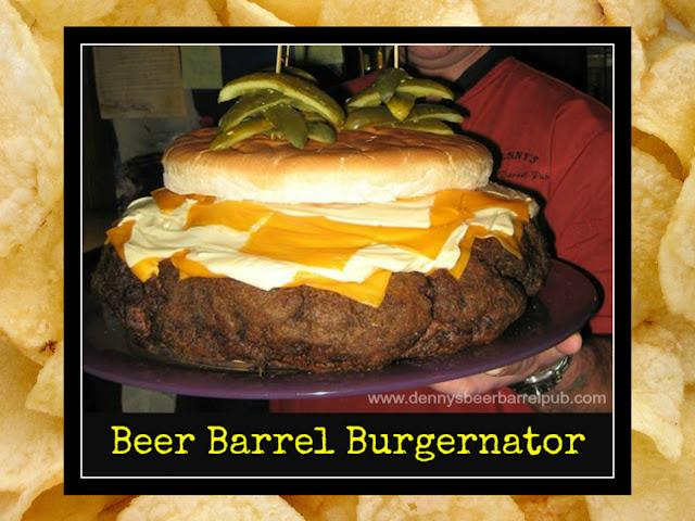Denny's Beer Barrel Pub Burgernator