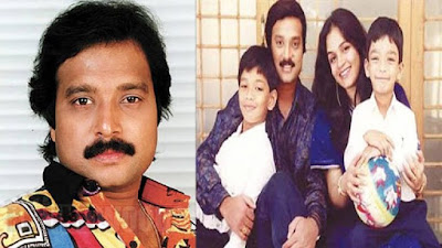 Gautham Karthik with Father and Mother