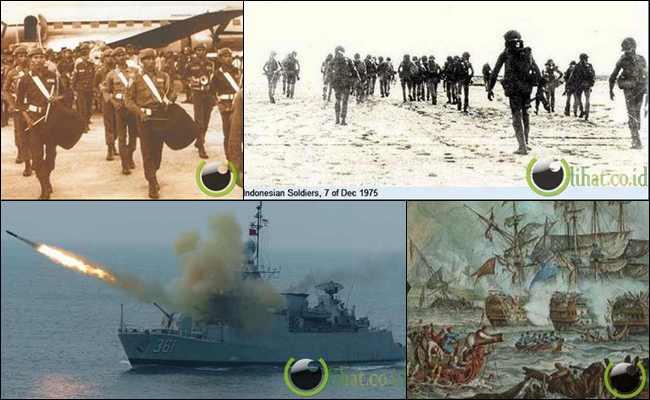 7 Negara yang pernah Diserang Indonesia Raya