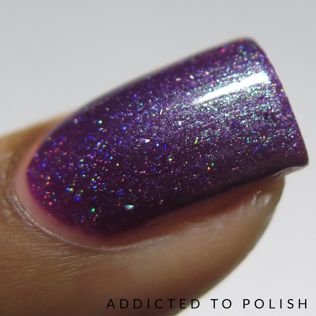 Sweet Heart Polish Addicted to Purple The Color Box Purple