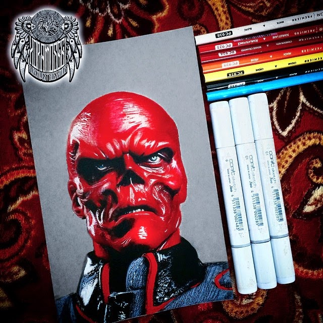 06-Red-Skull-Ramos-Ruben-xoramos661-Photo-Real-Comic-Book-Coloured-Drawings-www-designstack-co