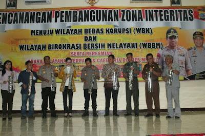 Polres Minsel Canangkan Zona Integritas Menuju WBK Dan WBBM
