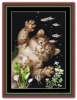 """""""Aquarium"""" Witchykitt Designs"""