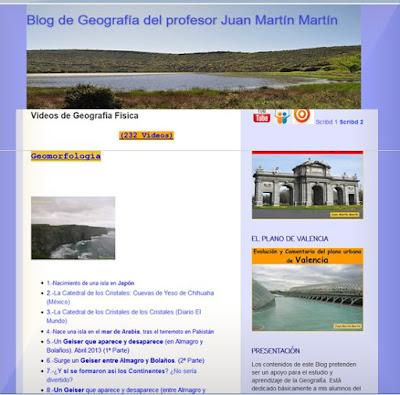 http://blogdegeografiadejuan.blogspot.com.es/p/videos-de-geografia-fisica.html