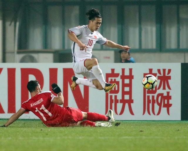 U23 Việt Nam thắng Syria: HLV Park Hang Seo cấm Công Phượng làm gì? 1