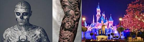 15 coisas estranhas proibidas na Disneylândia - Tatuagens