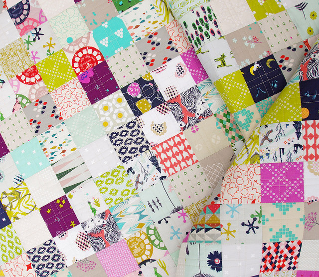 Cotton and Steel Quilt ~ Fall 2014 collections | Red Pepper Quilts