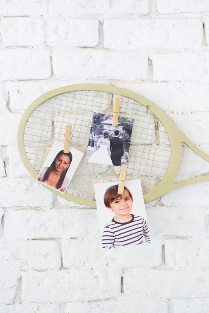 Reutilizando Raqueta de tenis