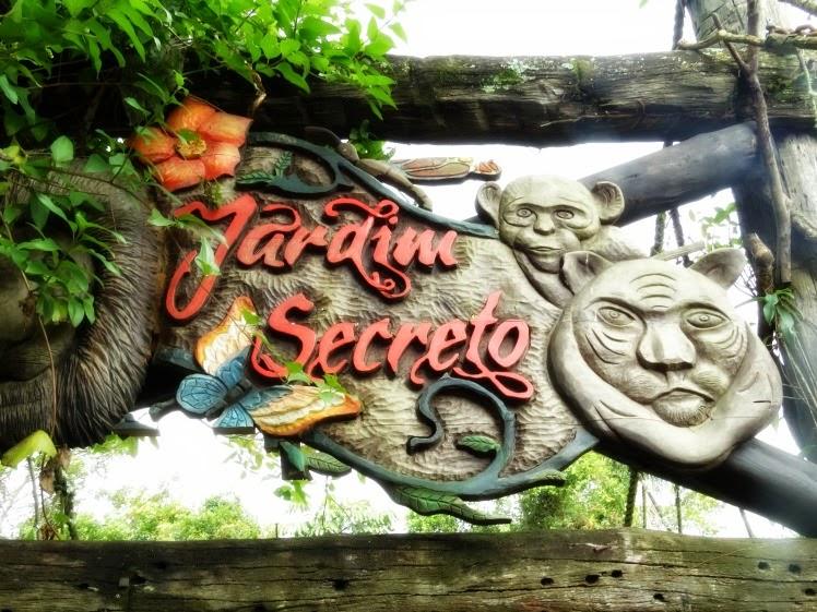 O Jardim Secreto, no Beto Carrero World, reúne animais ameaçados